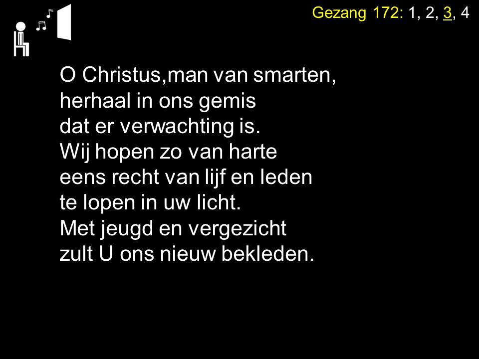 O Christus,man van smarten,