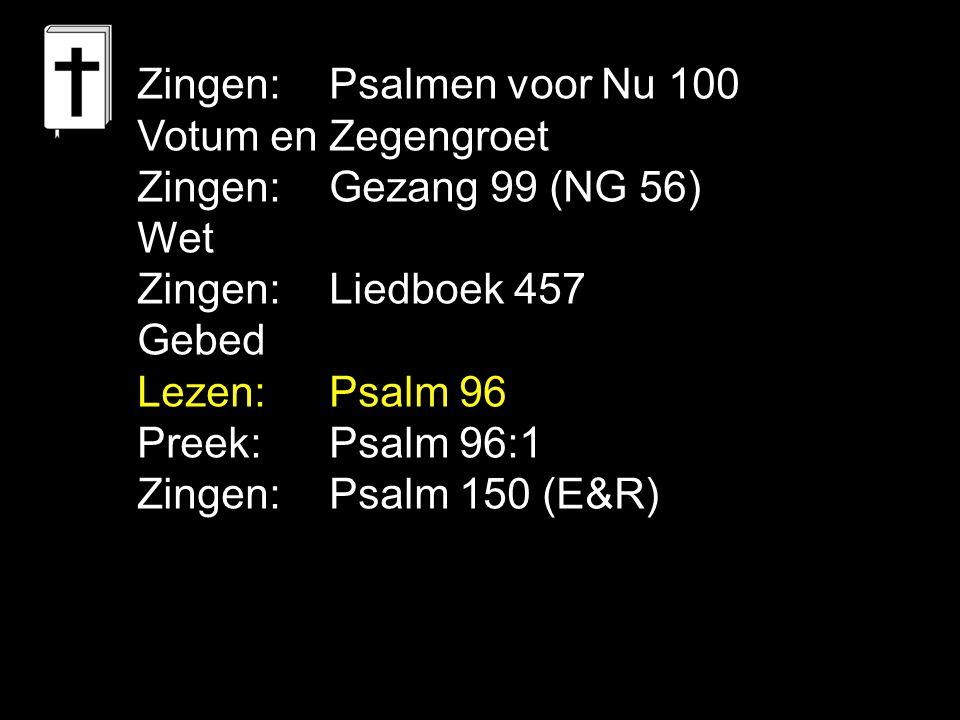Zingen: Psalmen voor Nu 100