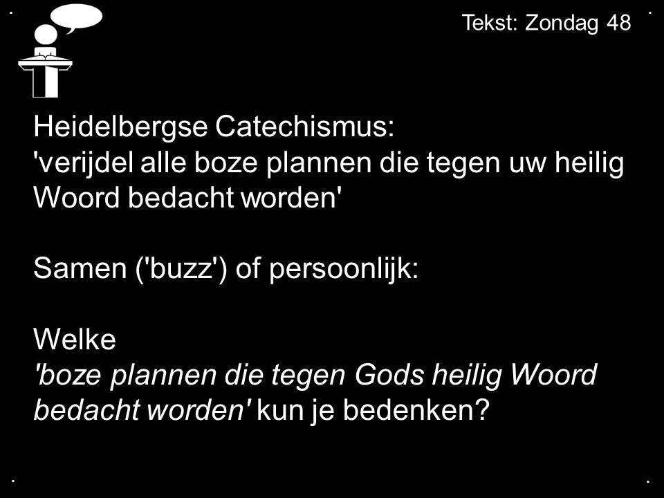 Heidelbergse Catechismus: