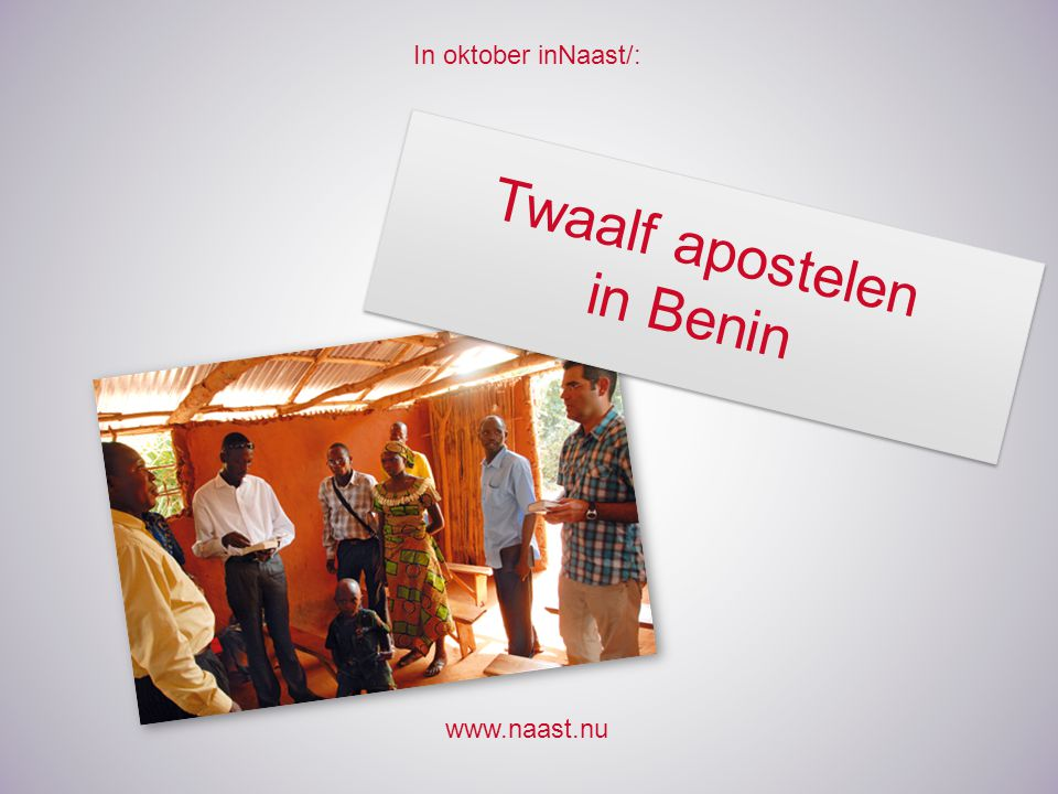 Twaalf apostelen in Benin