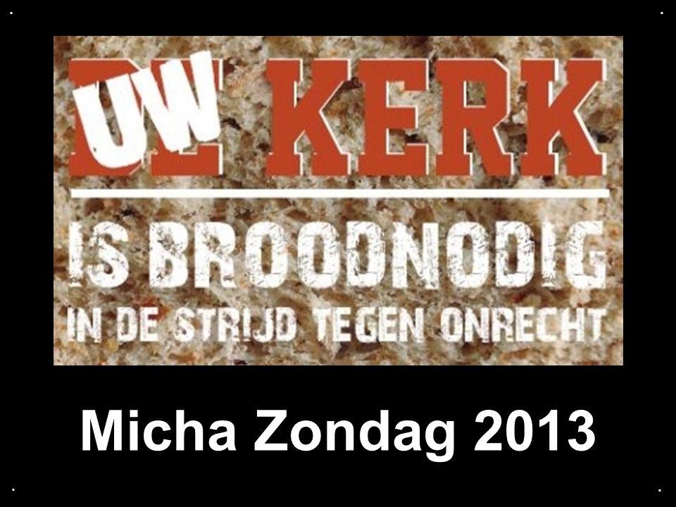 . . Micha Zondag 2013 . .