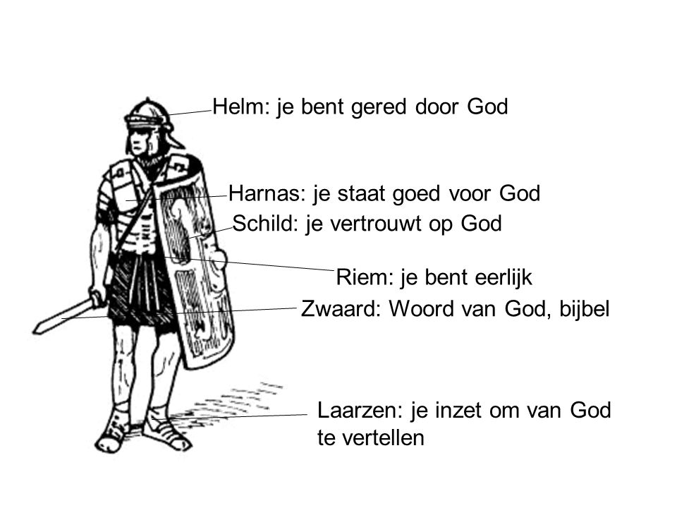 Helm: je bent gered door God