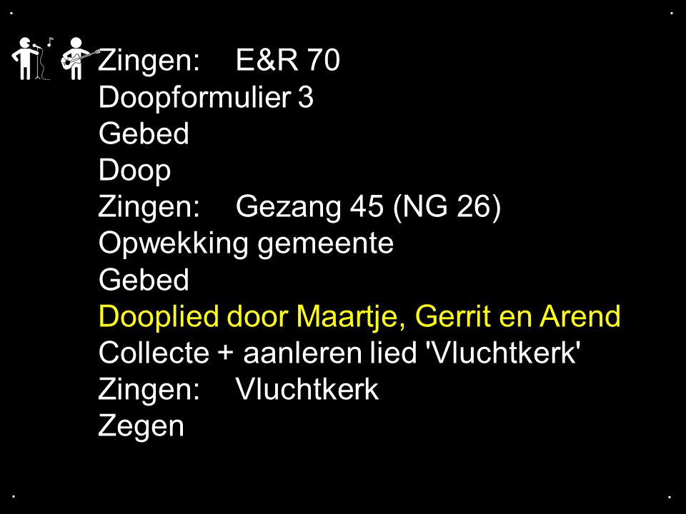 Dooplied door Maartje, Gerrit en Arend