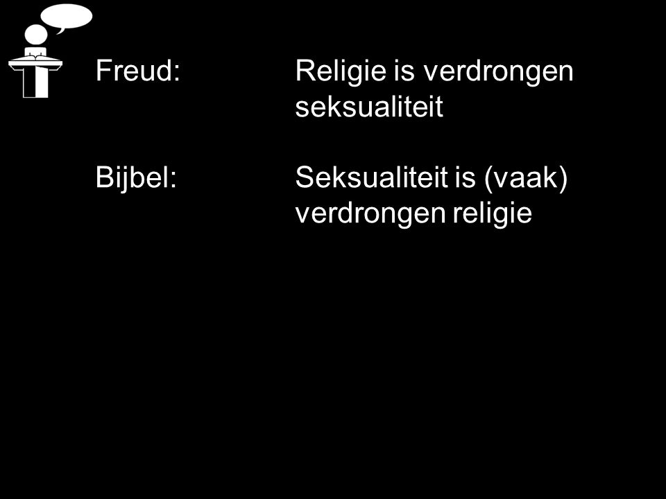 Freud: Religie is verdrongen