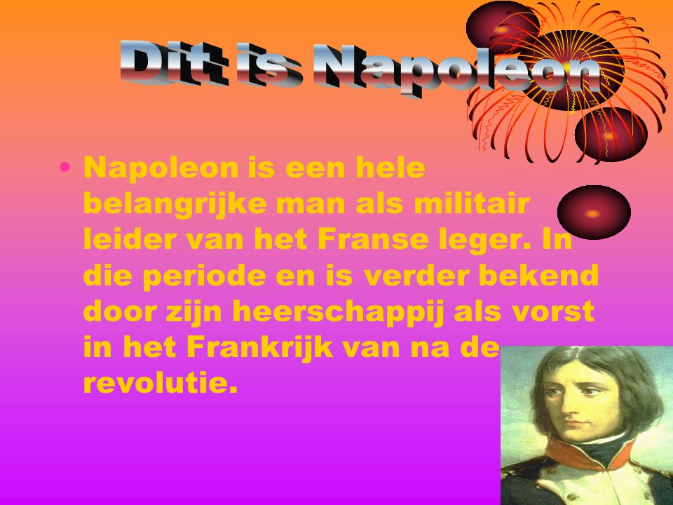 Dit is Napoleon