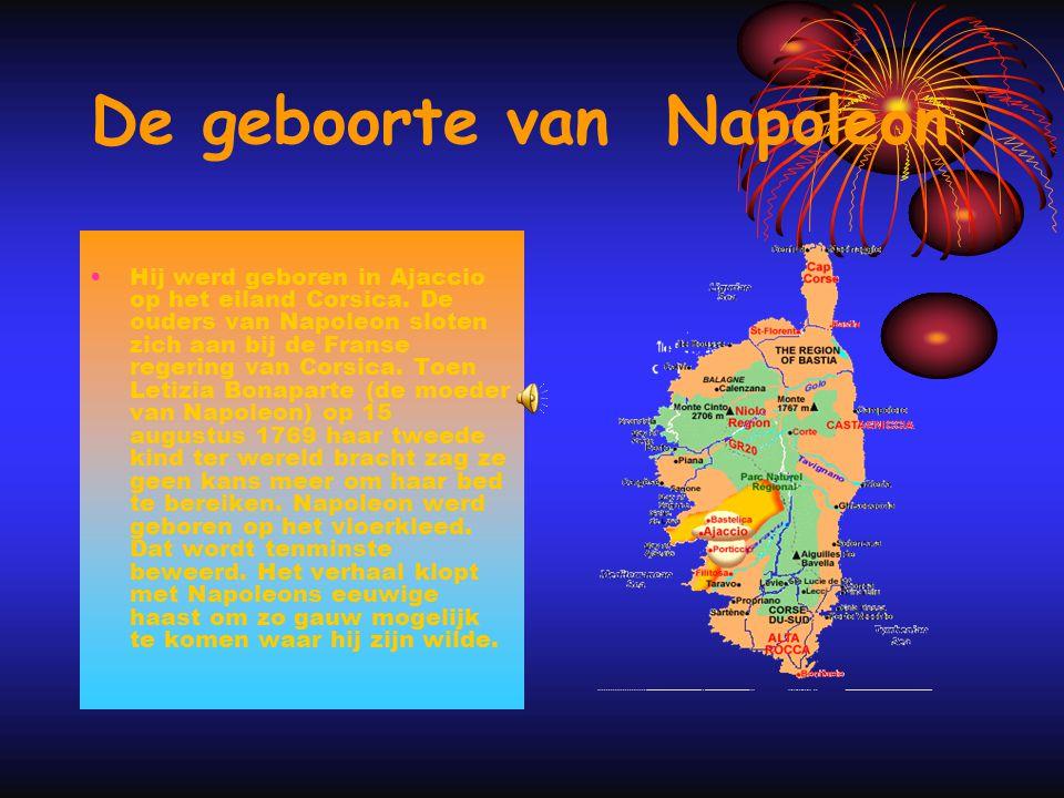 De geboorte van Napoleon