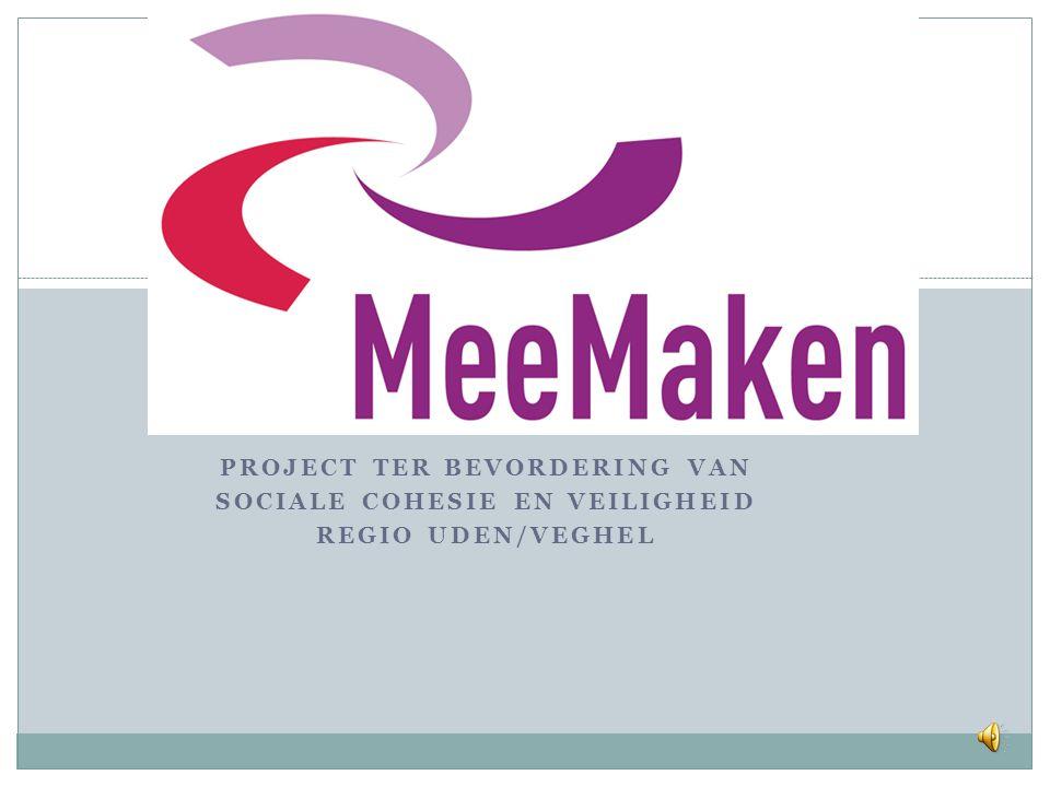 Project ter bevordering van sociale cohesie en veiligheid