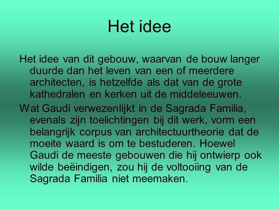 Het idee