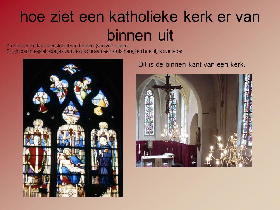 hoe ziet een katholieke kerk er van binnen uit