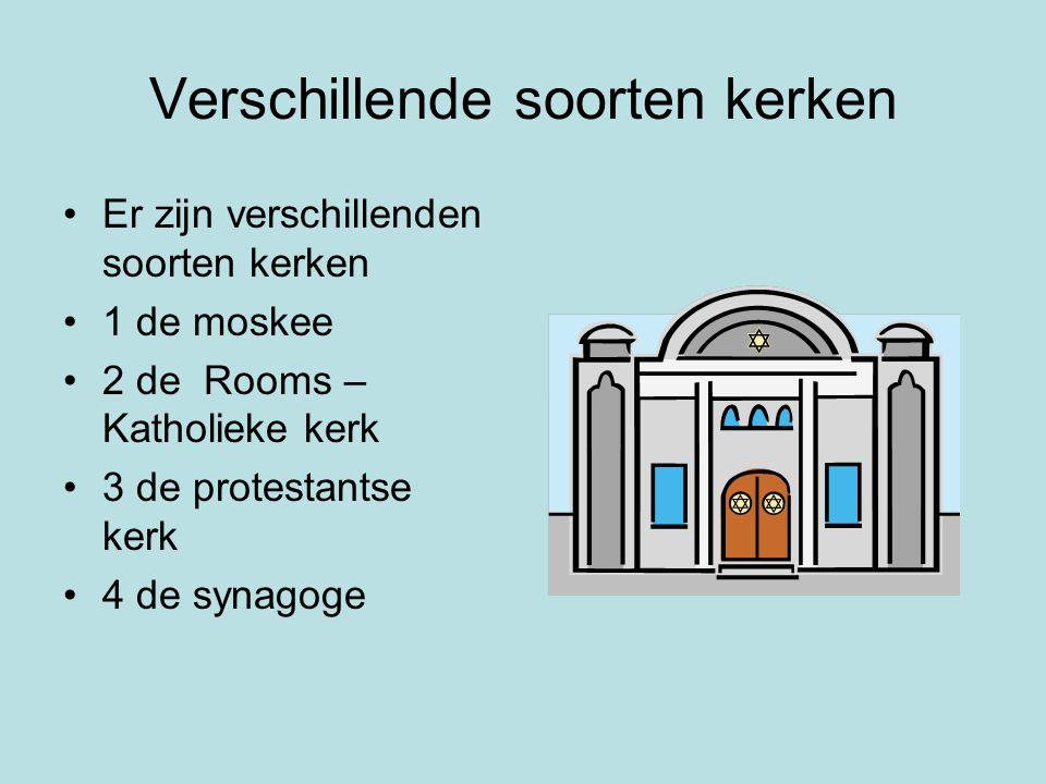 Verschillende soorten kerken