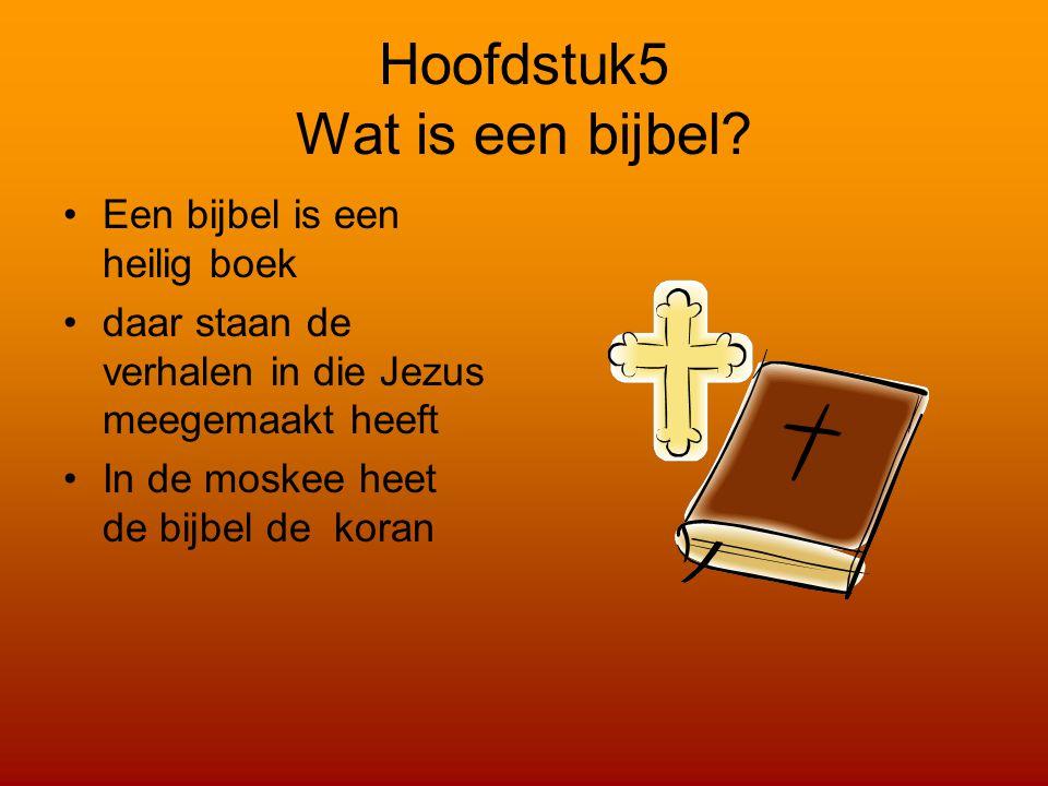 Hoofdstuk5 Wat is een bijbel