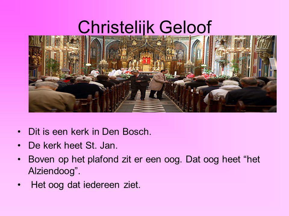 Christelijk Geloof Dit is een kerk in Den Bosch. De kerk heet St. Jan.