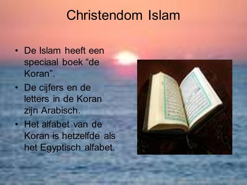 Christendom Islam De Islam heeft een speciaal boek de Koran .