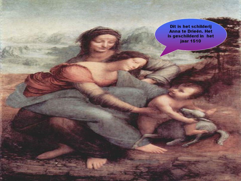 Dit is het schilderij Anna te Drieën