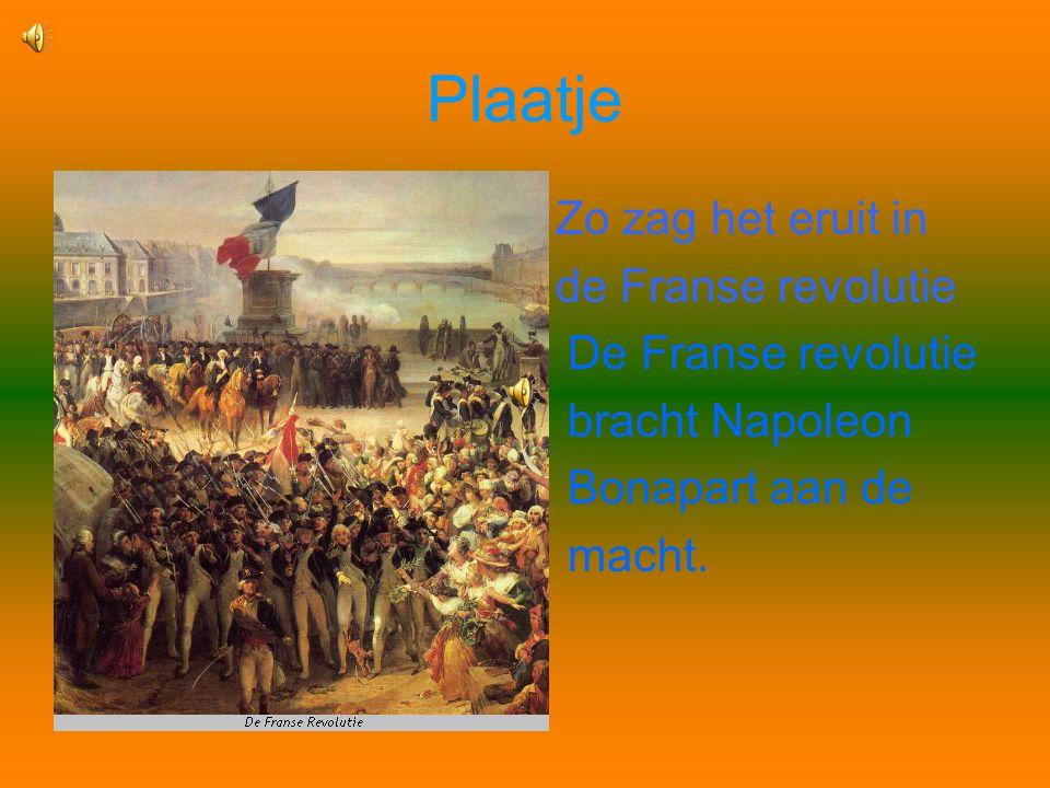 Plaatje Zo zag het eruit in de Franse revolutie De Franse revolutie