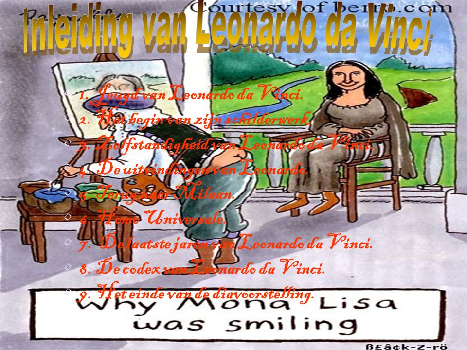 Inleiding van Leonardo da Vinci