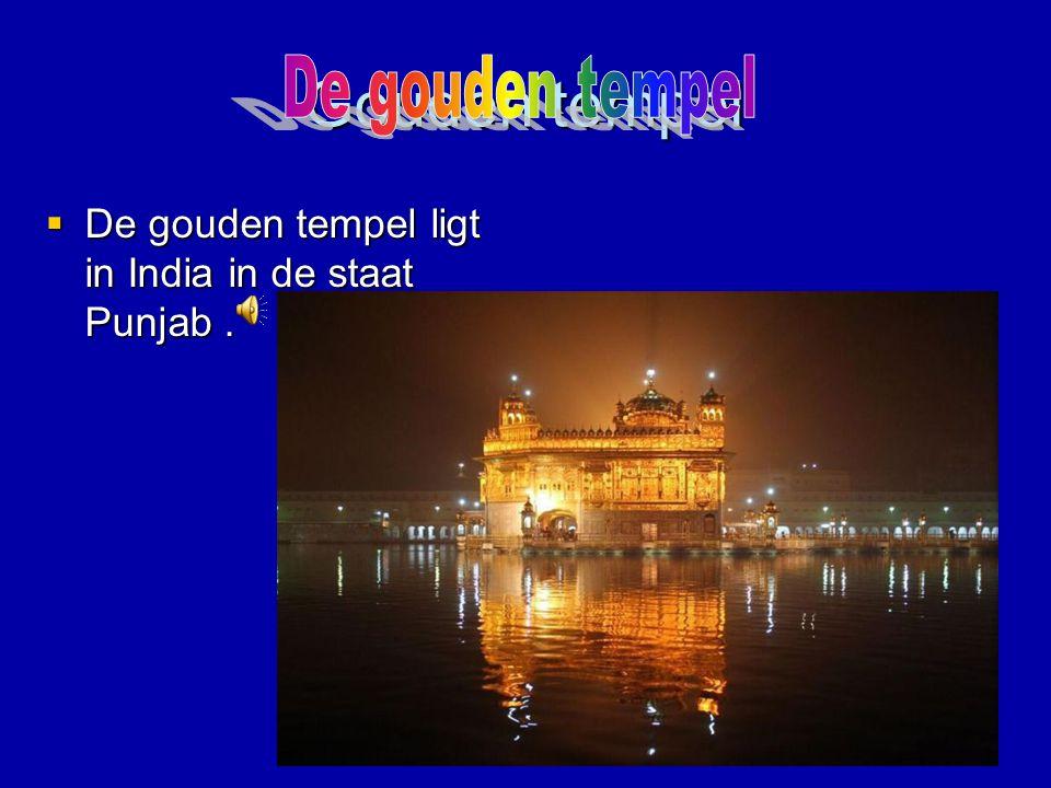 Gouden tempel De gouden tempel
