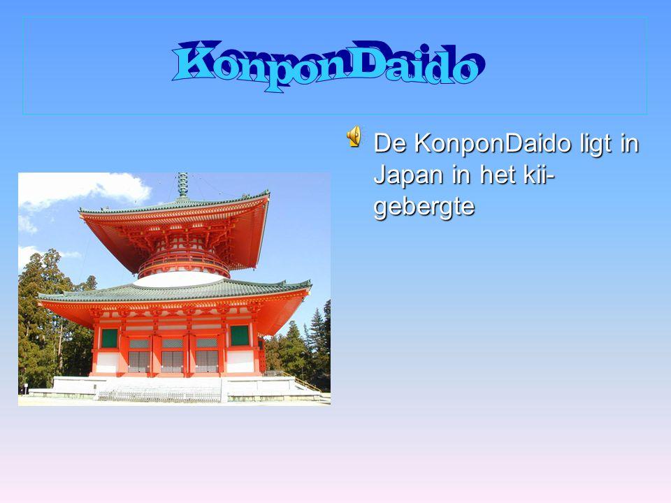 KonponDaido De KonponDaido ligt in Japan in het kii-gebergte