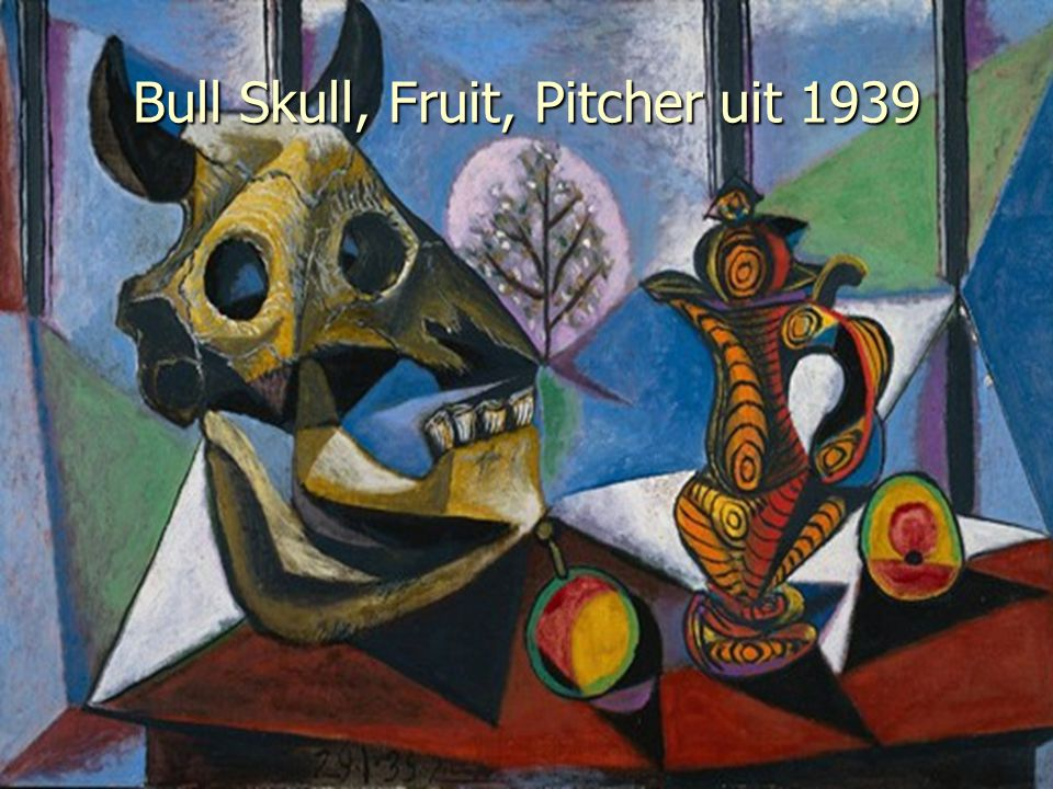 Bull Skull, Fruit, Pitcher uit 1939