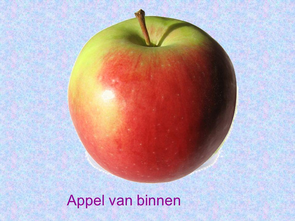 Appel van binnen