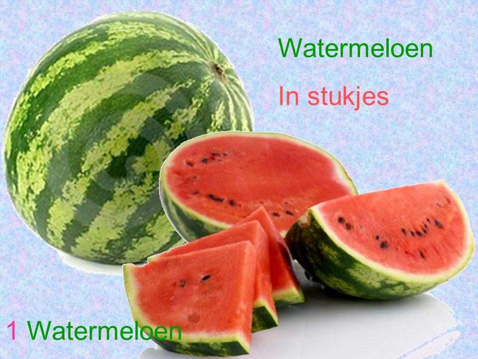 Watermeloen In stukjes 1 Watermeloen