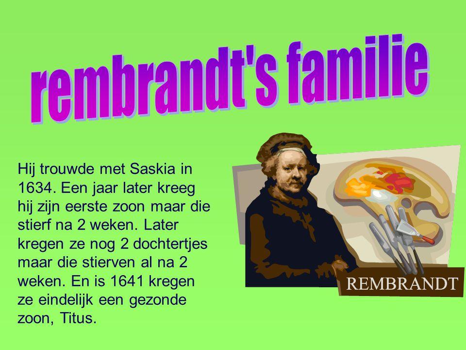 rembrandt s familie