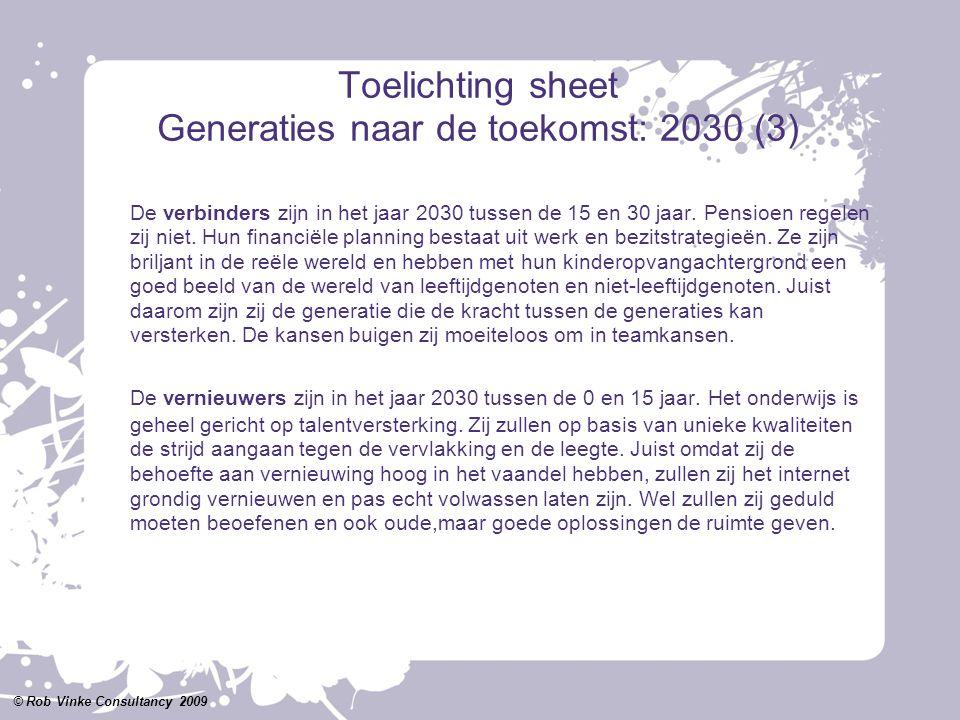 Toelichting sheet Generaties naar de toekomst: 2030 (3)