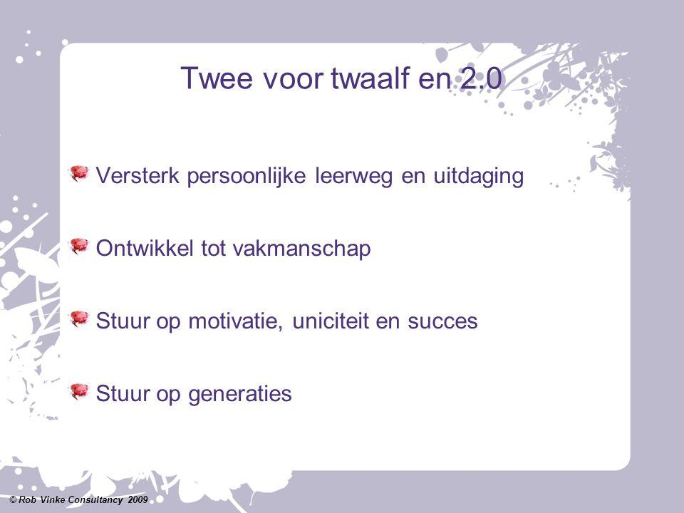Twee voor twaalf en 2.0 Versterk persoonlijke leerweg en uitdaging