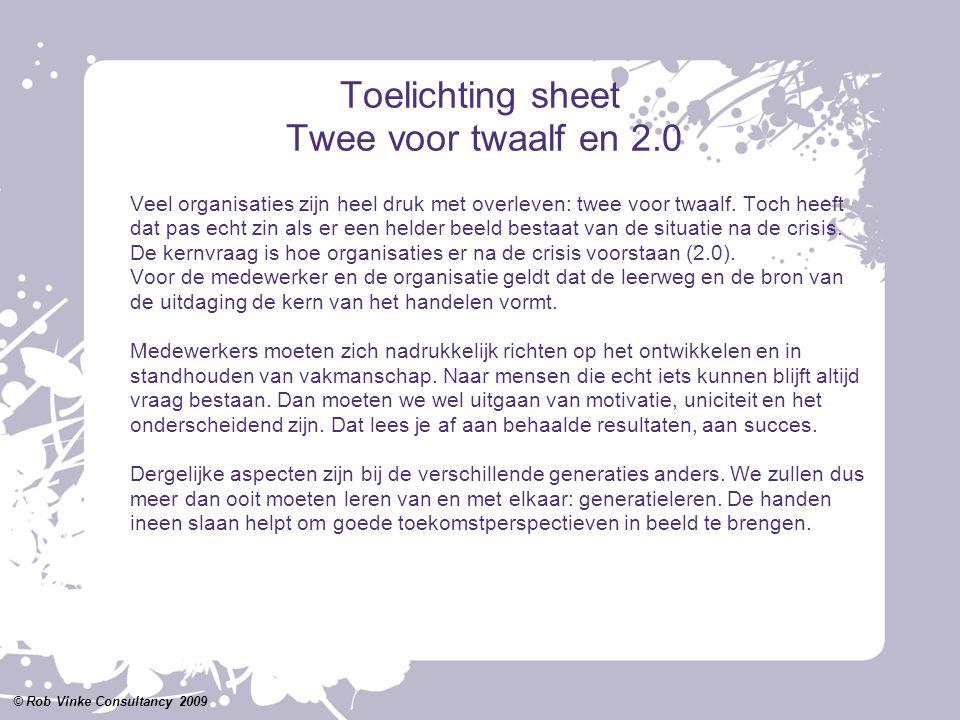 Toelichting sheet Twee voor twaalf en 2.0