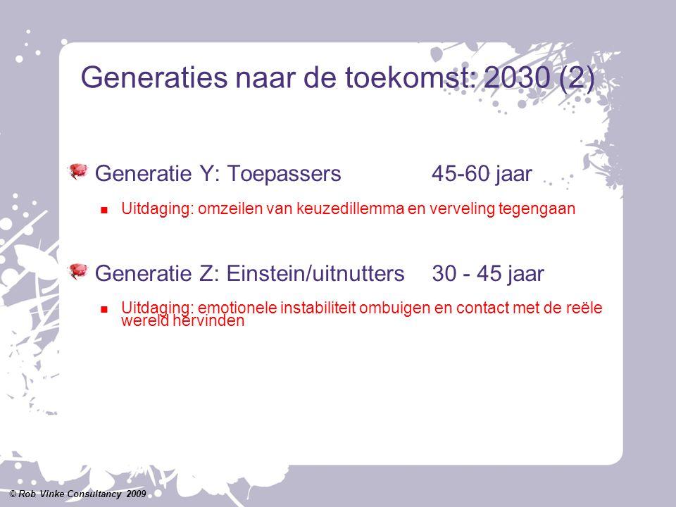 Generaties naar de toekomst: 2030 (2)