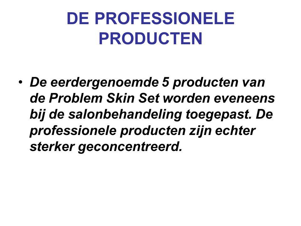 DE PROFESSIONELE PRODUCTEN