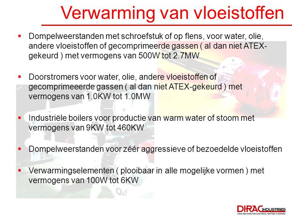 Verwarming van vloeistoffen