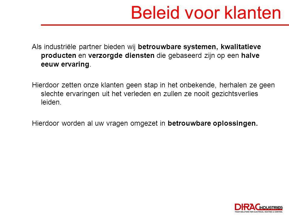Beleid voor klanten