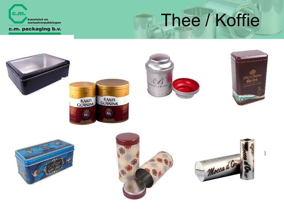 Thee / Koffie