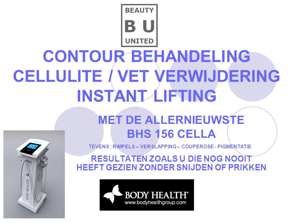 CONTOUR BEHANDELING CELLULITE / VET VERWIJDERING INSTANT LIFTING