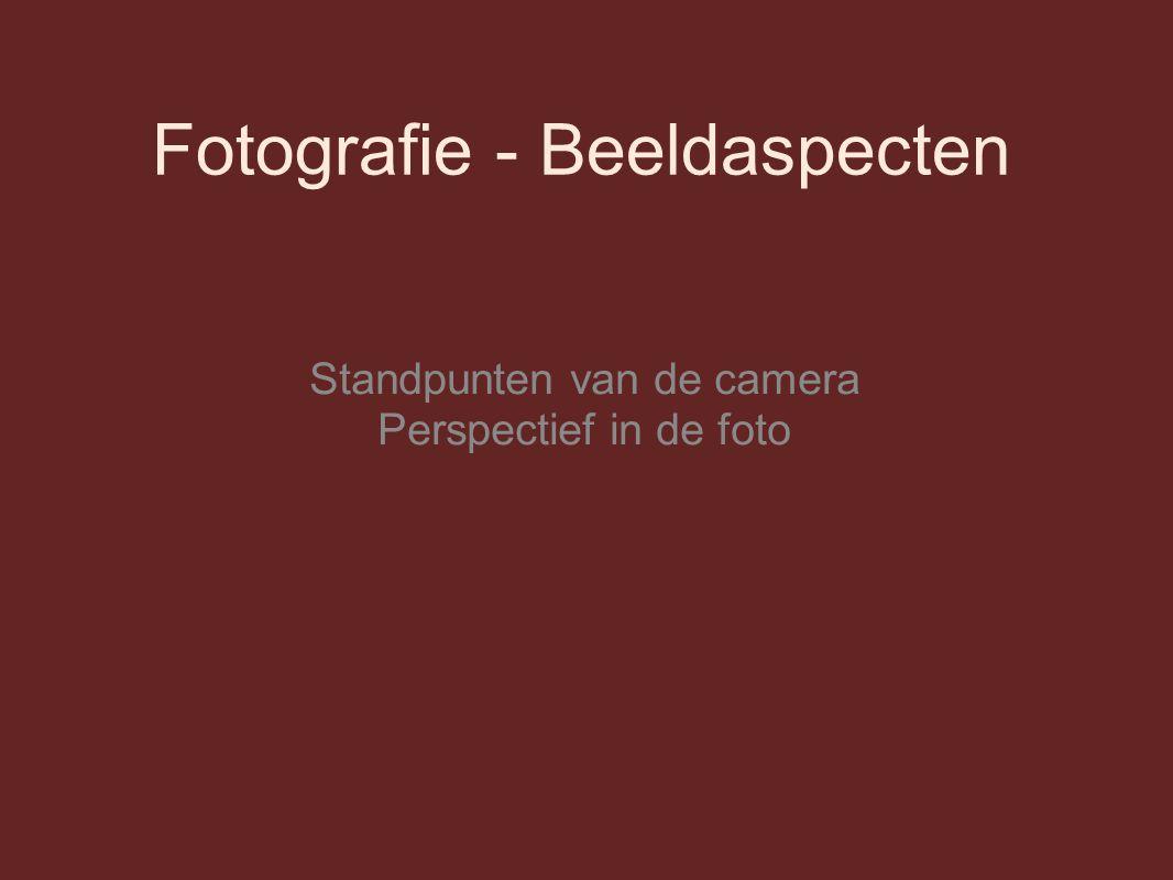 Fotografie - Beeldaspecten