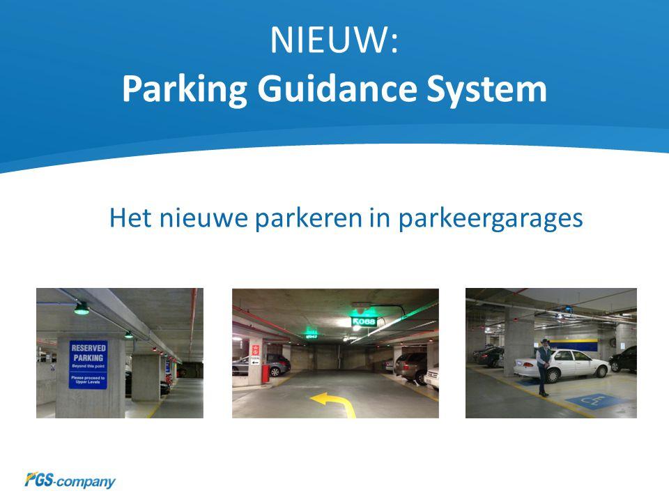 NIEUW: Parking Guidance System