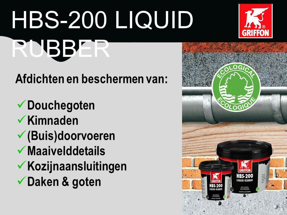 HBS-200 LIQUID RUBBER Voegen Scheuren Aansluitingen Doorvoeren
