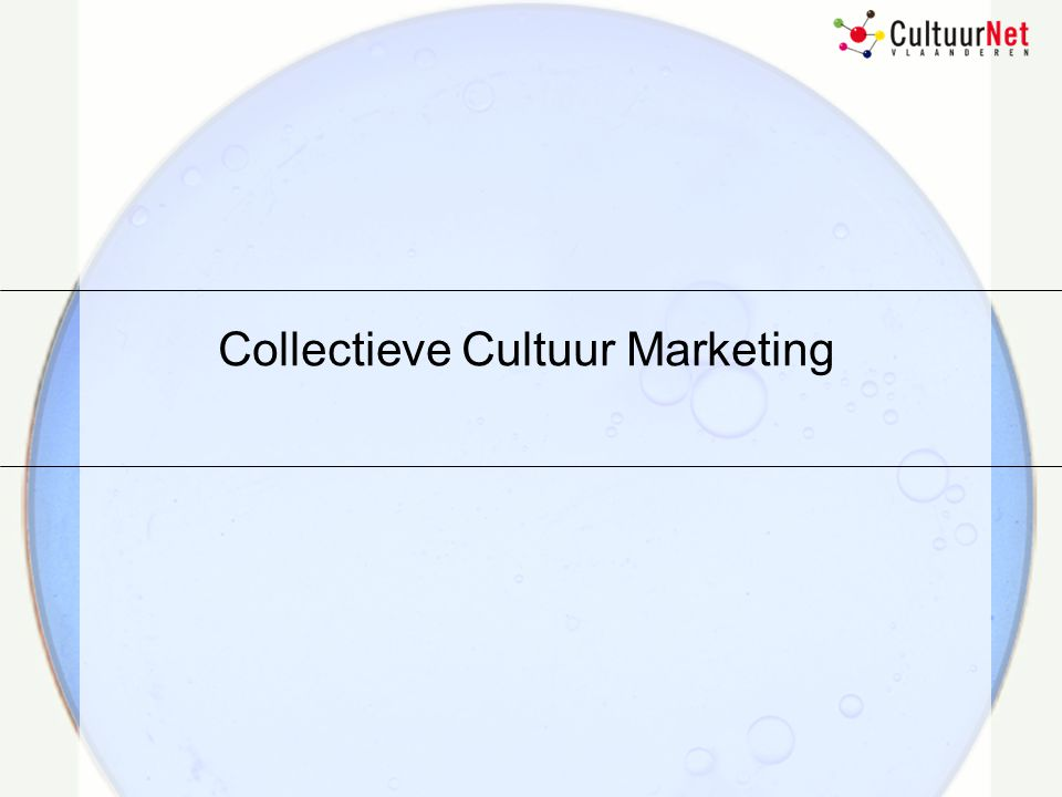 Collectieve Cultuur Marketing