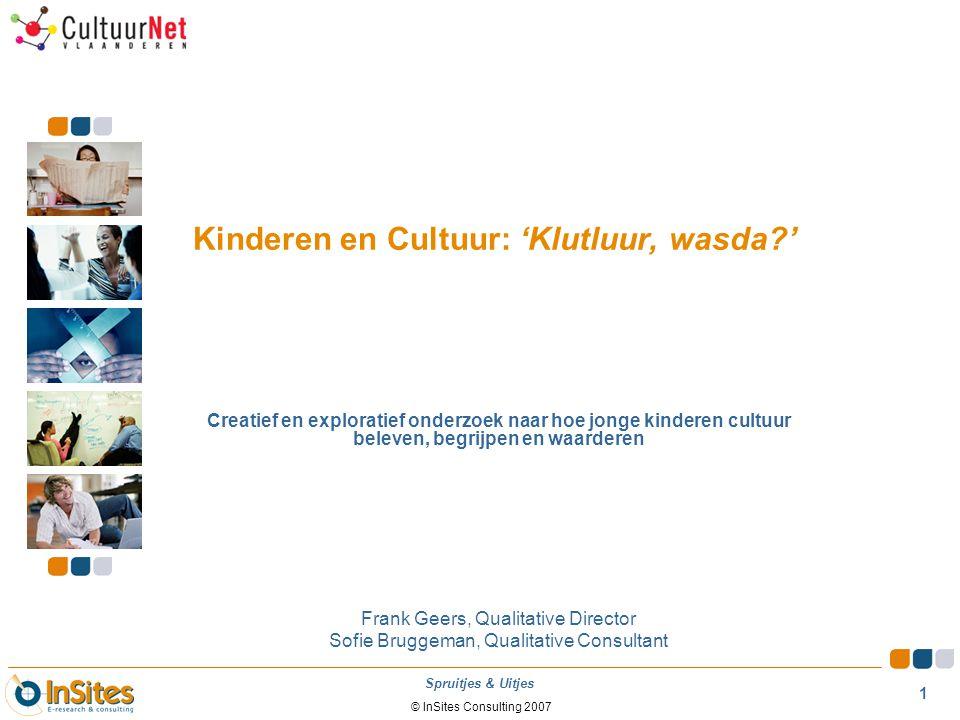 Kinderen en Cultuur: 'Klutluur, wasda '