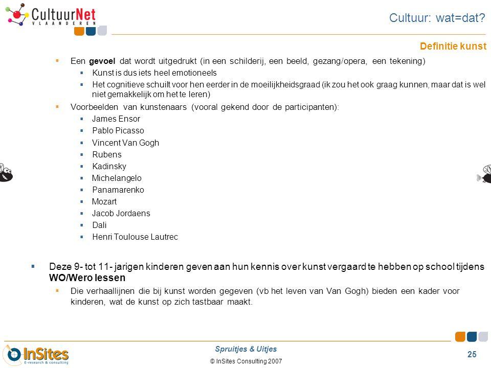 Cultuur: wat=dat Definitie kunst