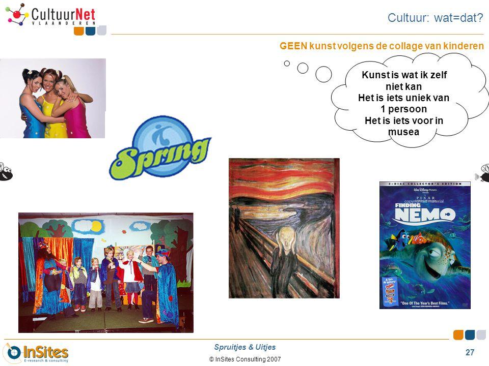 Cultuur: wat=dat GEEN kunst volgens de collage van kinderen