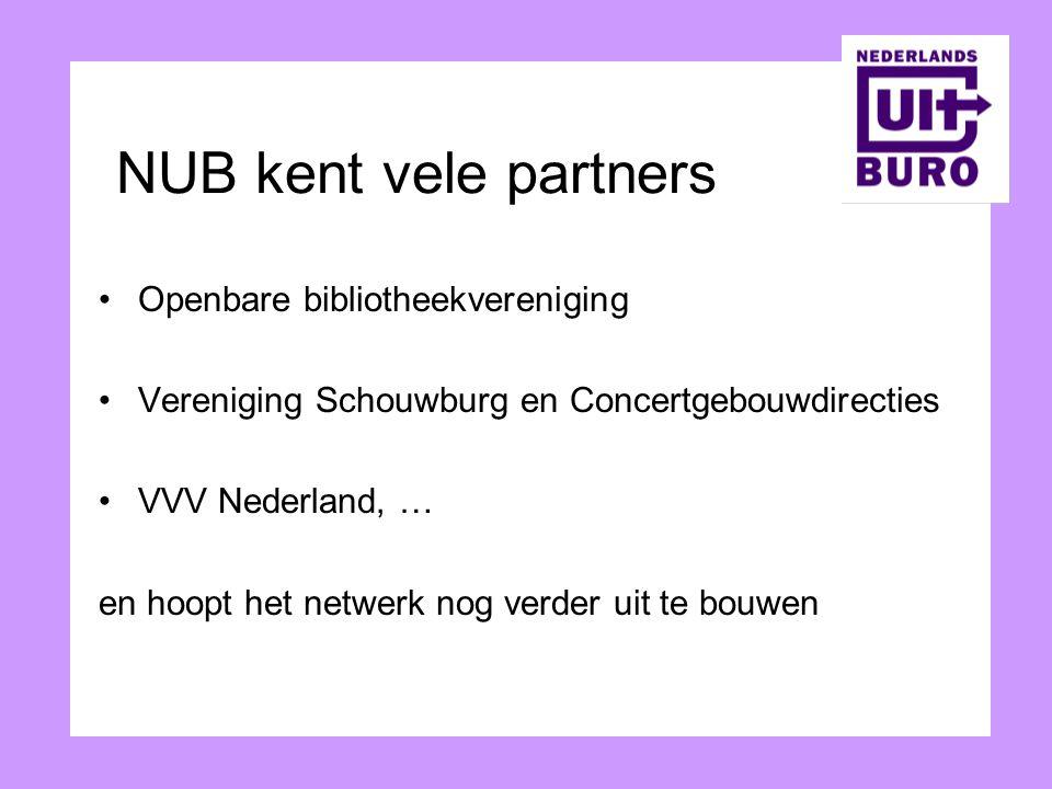 NUB kent vele partners Openbare bibliotheekvereniging