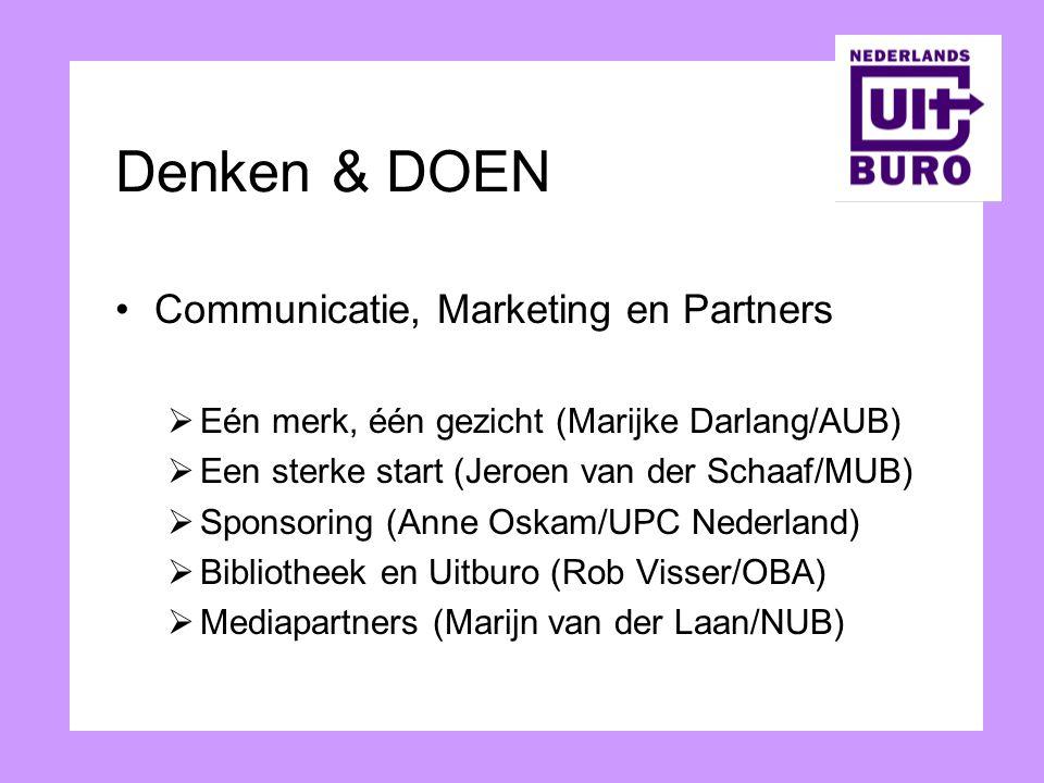 Denken & DOEN Communicatie, Marketing en Partners