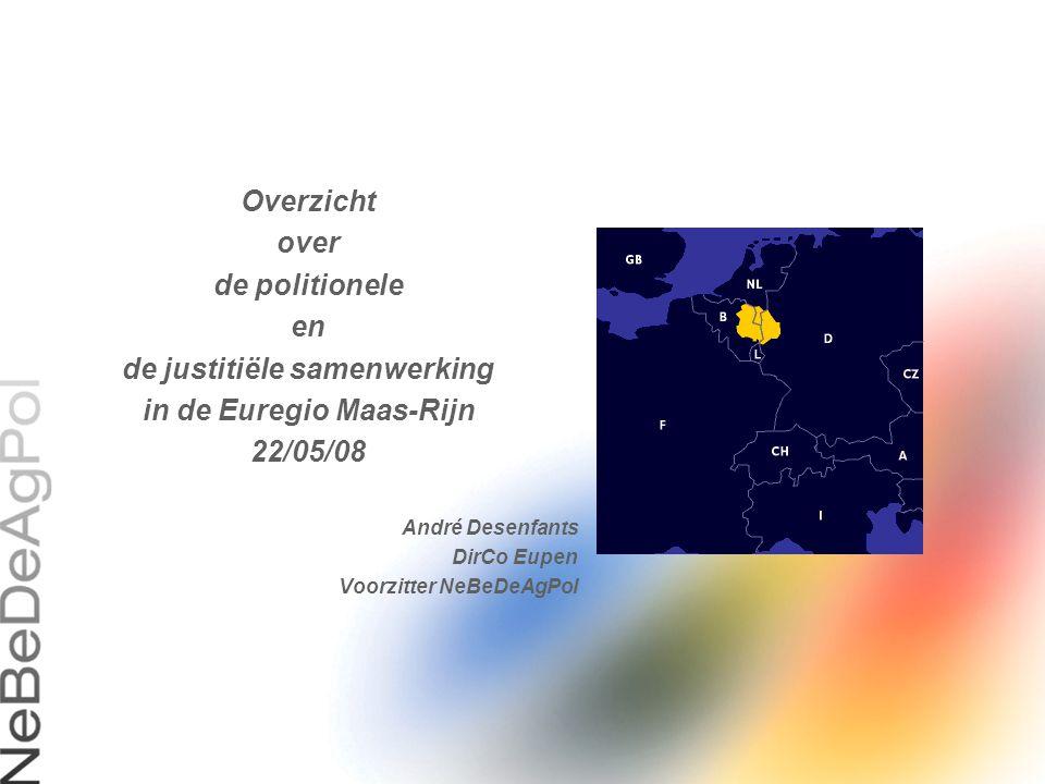 de justitiële samenwerking in de Euregio Maas-Rijn