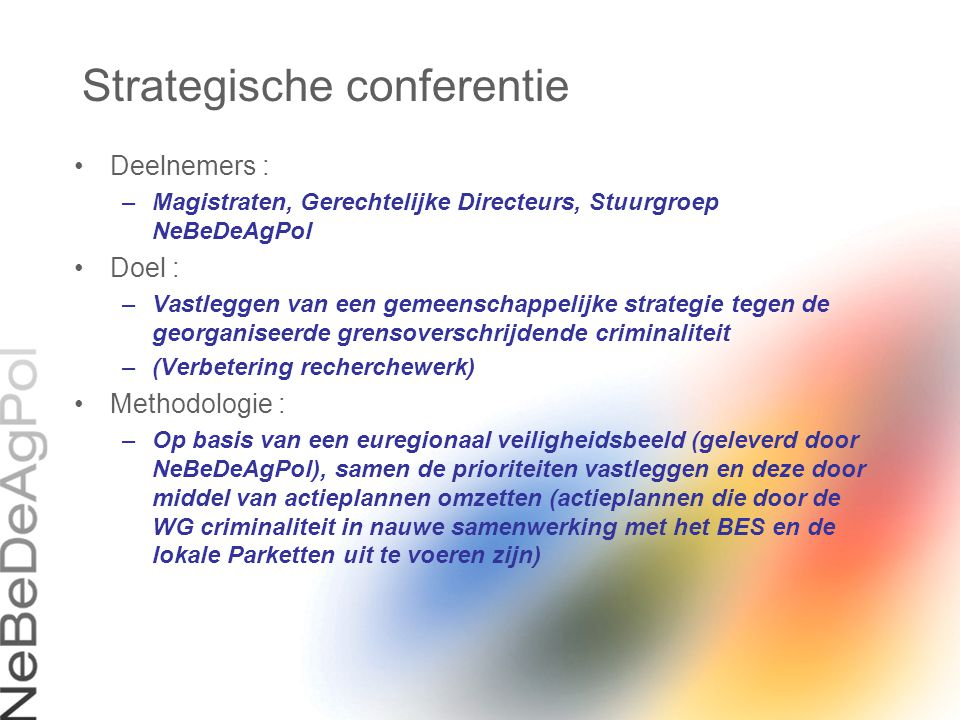 Strategische conferentie