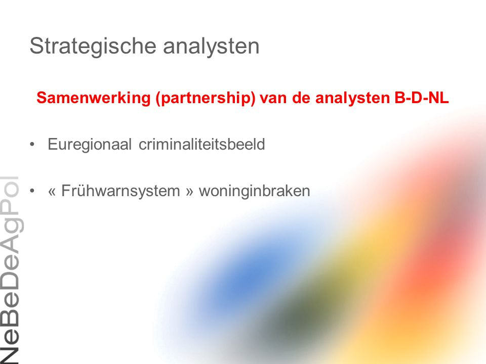 Strategische analysten