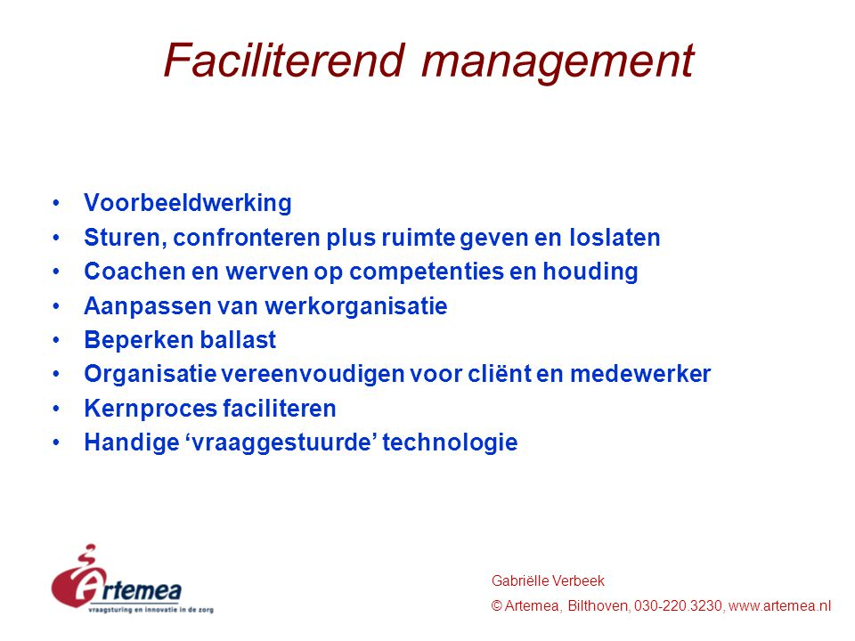 Faciliterend management