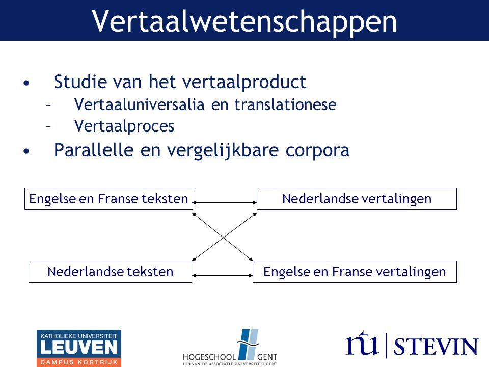 Vertaalwetenschappen