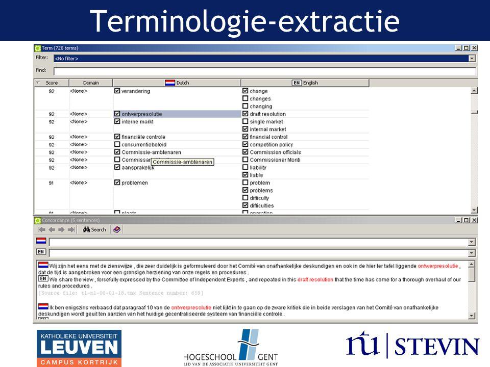 Terminologie-extractie